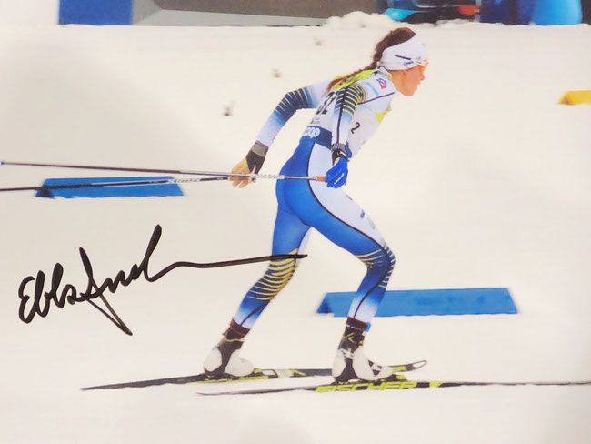 Autograph Ebba Andersson Autogramm