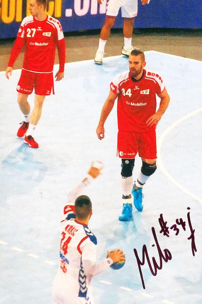 Autograph Alen Milosevic Autogramm