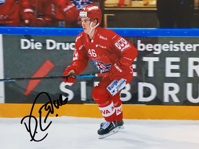 Autograph Dominik Egli Autogramm