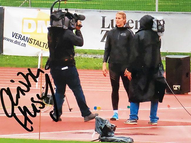 Autograph Christin Hussong Autogramm