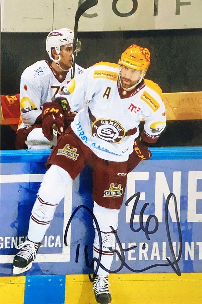 Autograph Daniel Winnik Autogramm