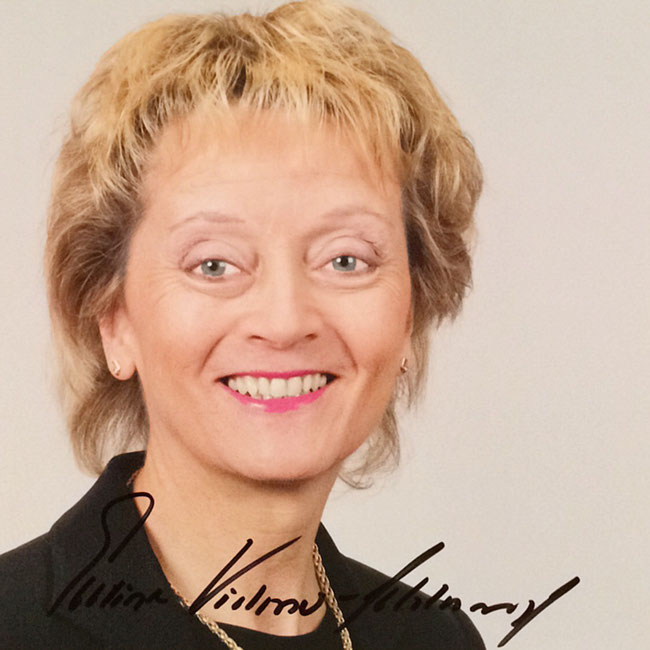 Autograph Evelyne Widmer-Schlumpf Autogramm