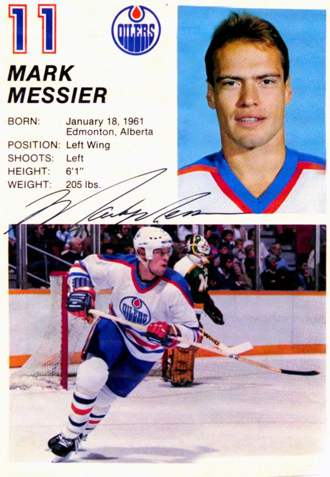 Autograph Mark Messier Autogramm