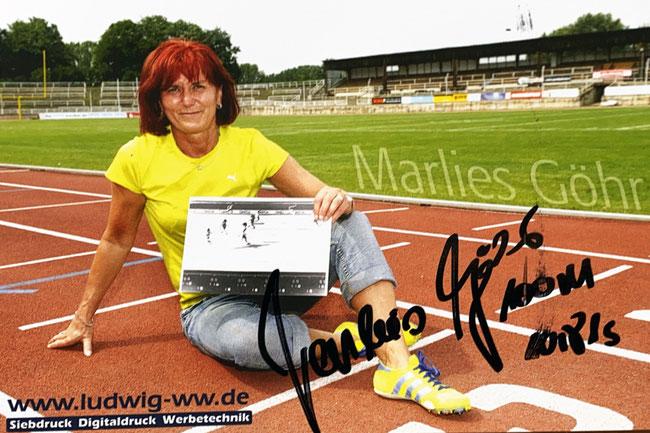 Autograph Marlies Göhr Autogramm