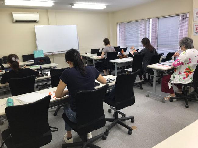 書道教室 東京 中央区 銀座 大人 社会人