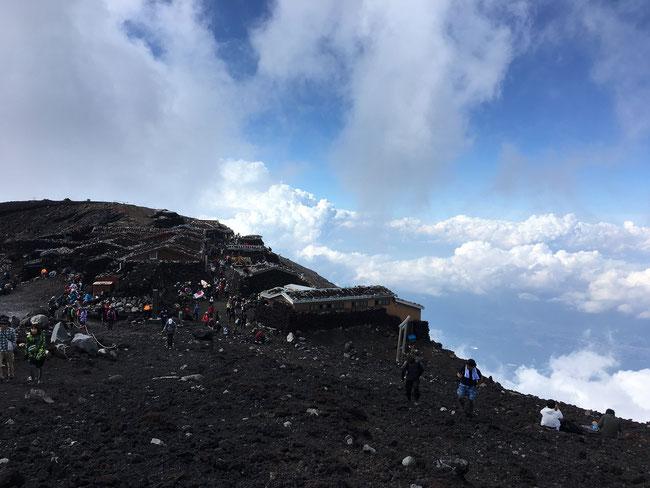 オサモミ整体院 富士山頂上付近