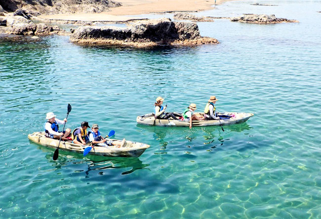 新潟の海でシーカヤックなら小竹屋旅館