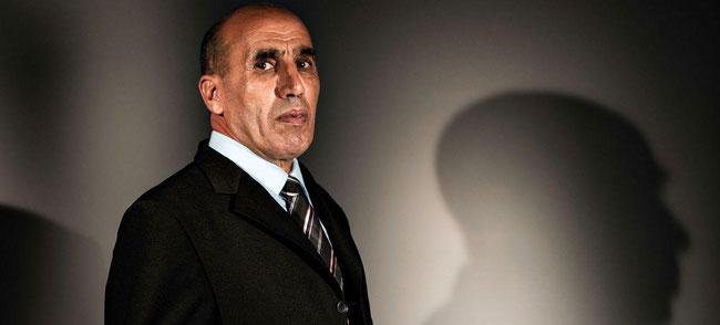 Boaza Gasmi, président du Comité national de liaison des harkis. Frederic Maligne pour Le Figaro Magazine