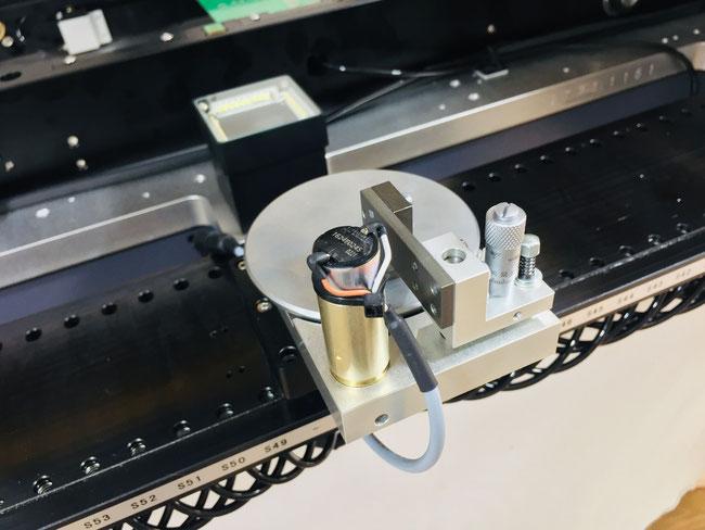 VP-2800HP-CL64-4RCV showing optional flux dipping station