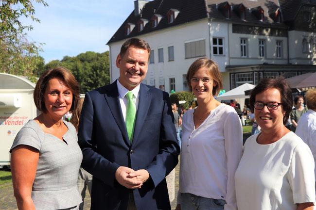 Nicole Westig MdB, Jochen Beuckers, Jessica Gaitskell, Dagmar Ziegner