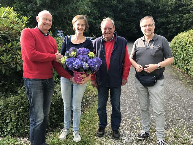 Bernd Schlegel, Jessica Gaitskell, Klaus Bünger, Peter Aßmann