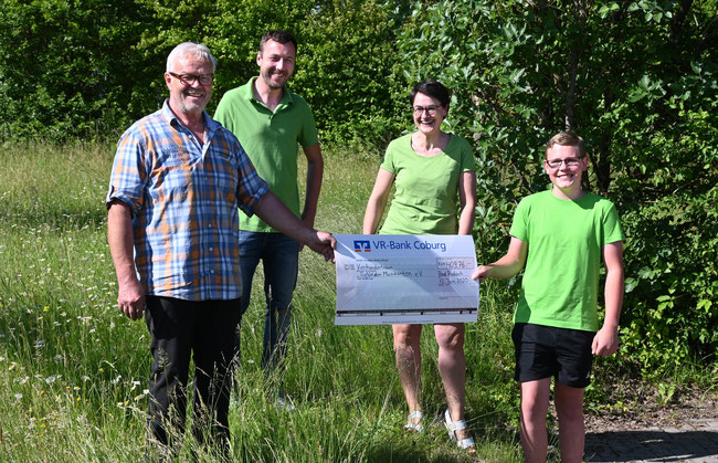 Spendenübergabe in Bad Rodach