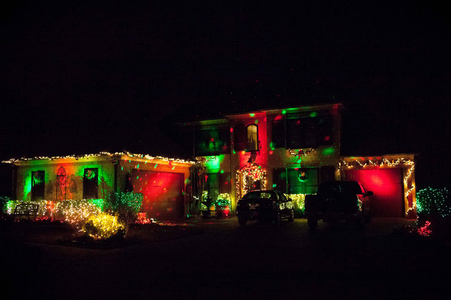 Woodbridge Holiday Decorations Winner for 2017 - Congrats to the Tucker's at 9440 Lake Bridge Drive