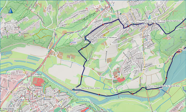 Rund um Stiepel BO-Stiepel, Kemnader Brücke - Schleuse Stiepel - BO-Stiepel, Haarholzer Str.