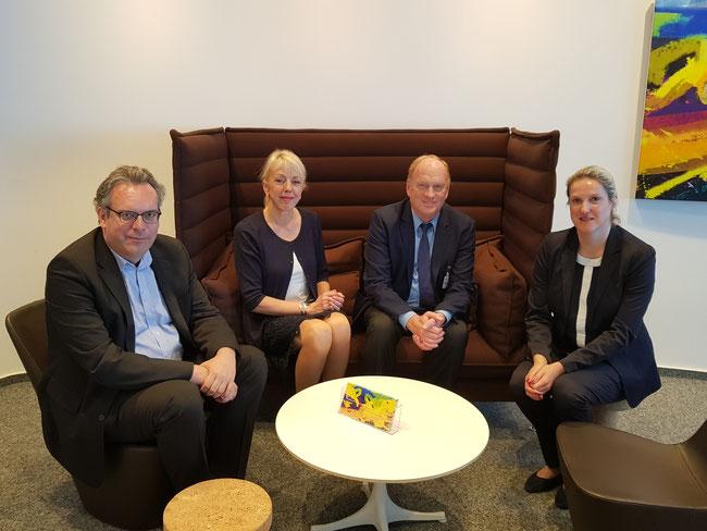 Thomas Franzkewitsch (FDP), Susanne Schneider (FDP), Hans-Wilhelm Köster, Tanja Nackmayr