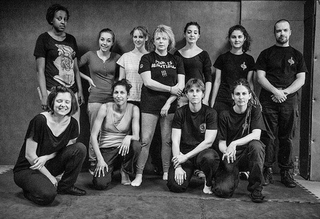 Stage femme IKMF Vanves du 8 mars 2014