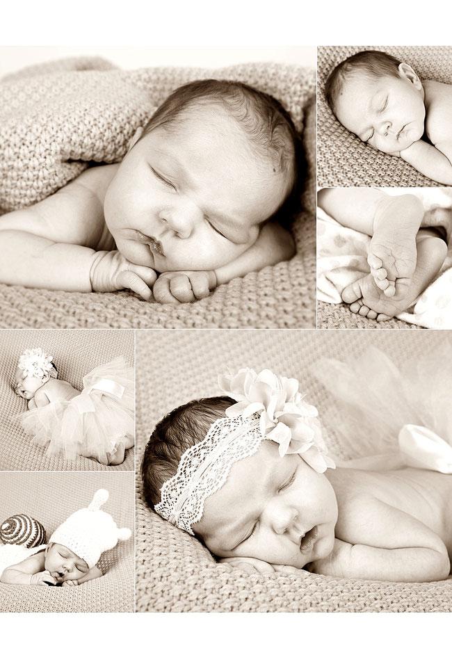 Neugeborenenshooting - Fotostudio Hallbergmoos Iris Besemer www.pictureandmore.com
