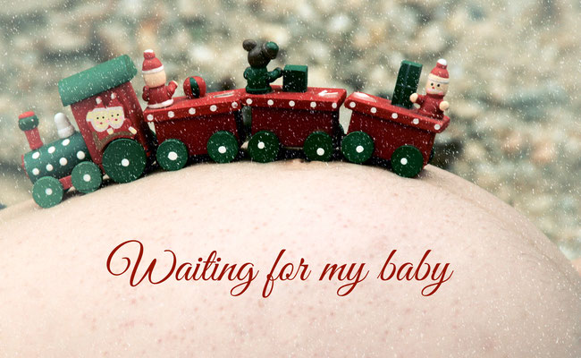 Warten auf mein Baby und plötzlich ist mein Kind still, tot, mir vorrausgegangen ...