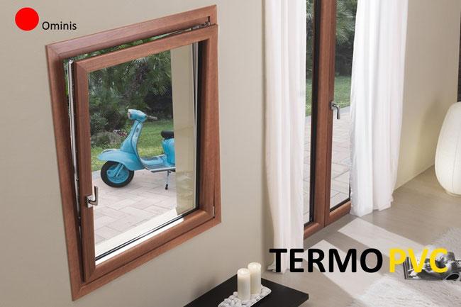 Listino prezzi serramenti termici pvc ominis finestre for Costo infissi legno alluminio
