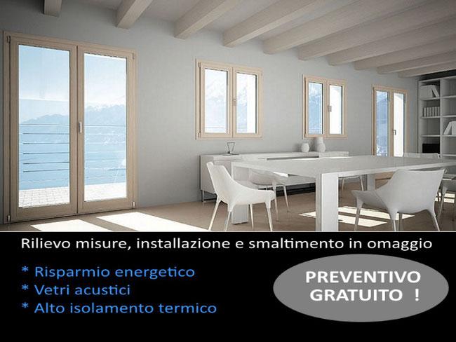 Listino prezzi serramenti termo pvc ominis finestre for Costo serramenti pvc