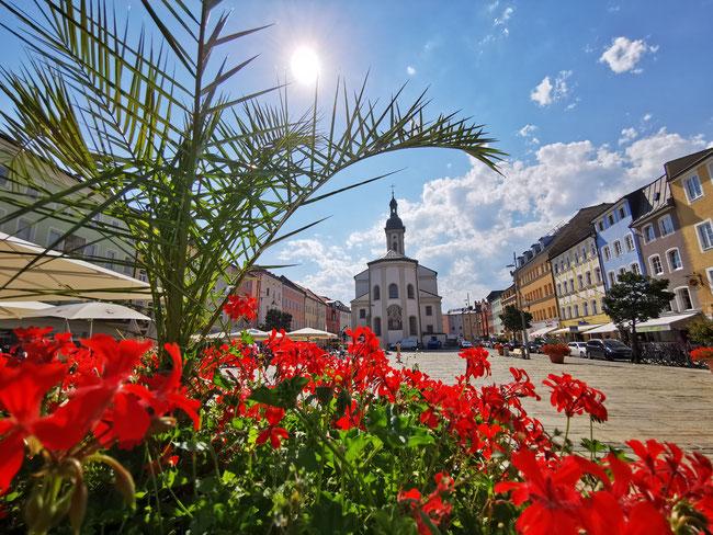 Traunstein Stadtansicht