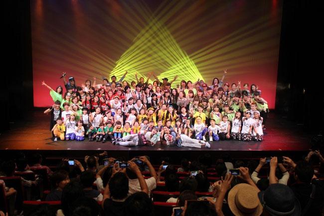 DanceGroupCUBE発表会vol.1  2015年7月19日(日)
