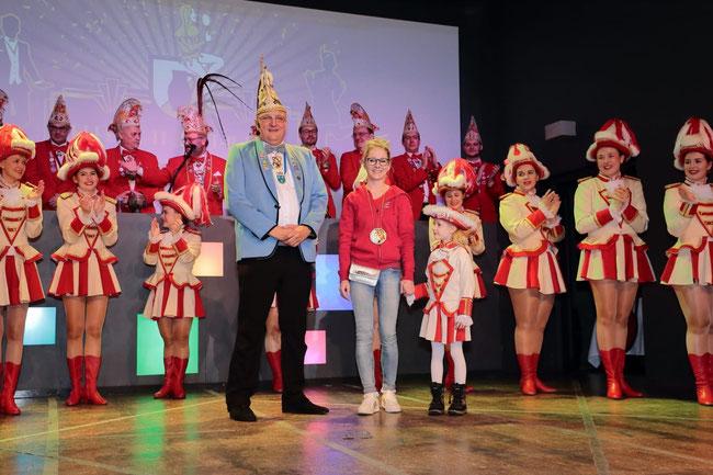 Sarah Moskopp erhält den Orden des Laureatus!