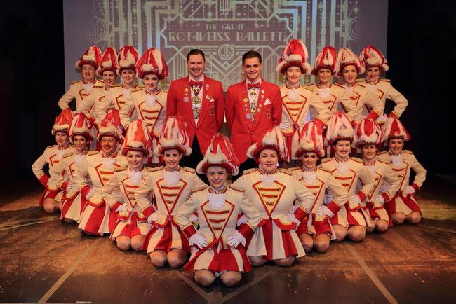 Das Rot-Weiss-Ballett 2020