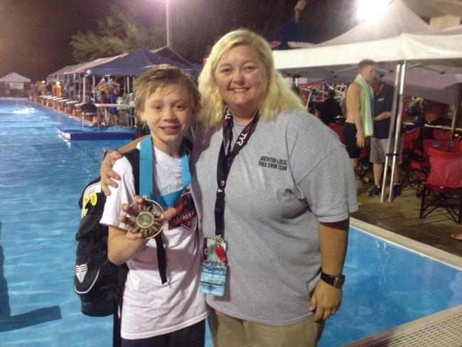 Cole Jernigan win Bronze at Speedo World Winter Championships in Ft. Lauderdale