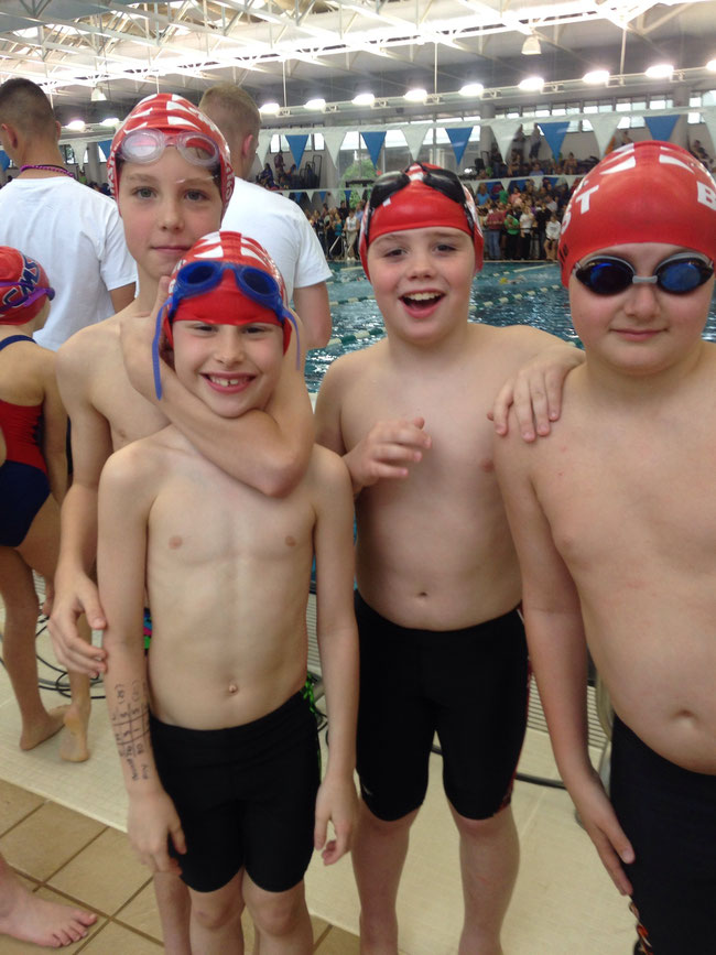District Championships 10u relays