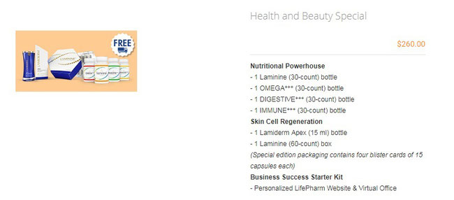 Health and Beauty Special