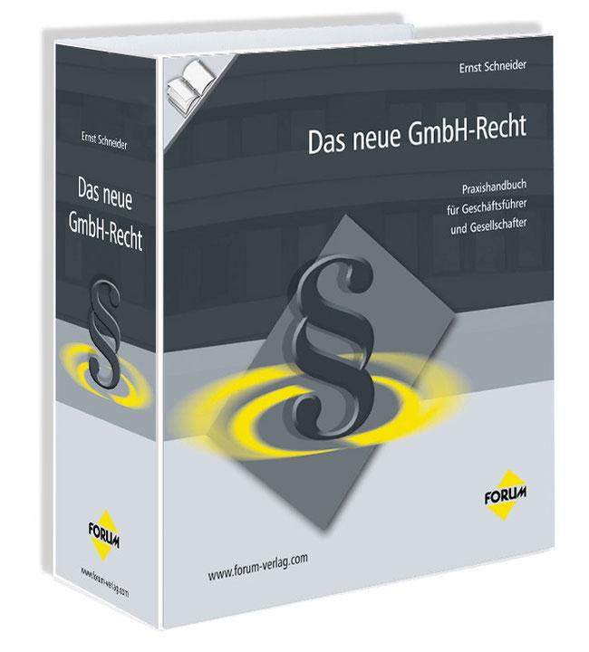 """Abbildung Buch """"Das neue GmbH-Recht"""""""