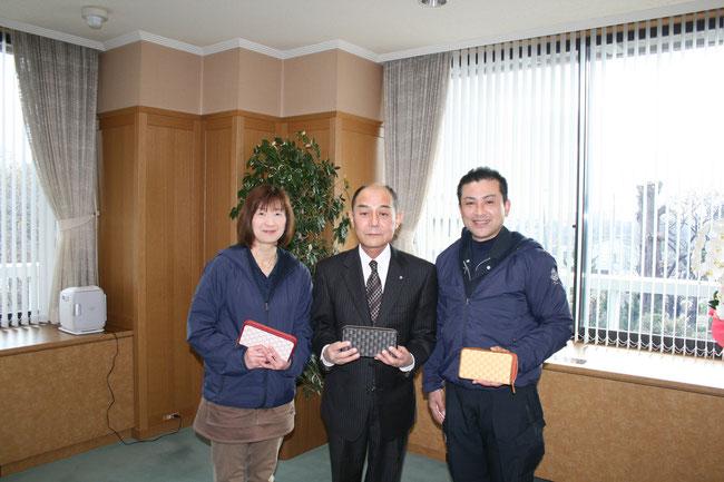 写真:田原本町長表敬訪問
