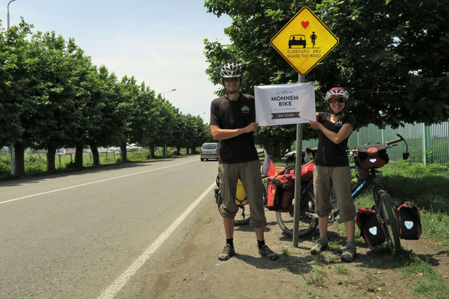 """""""Share the Road"""" - Eing gutes Moto für die Weiterreise"""