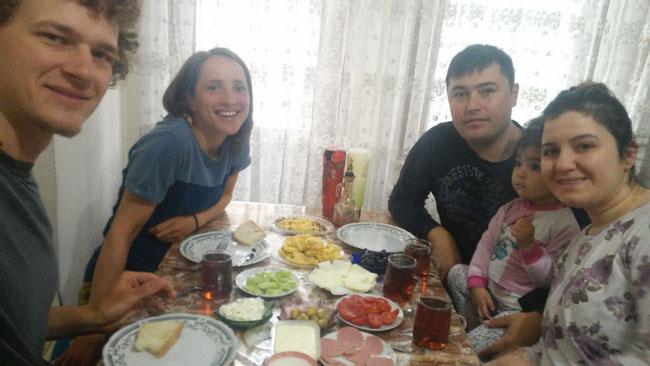 Zu Gast bei Salih und seiner kleinen Familie