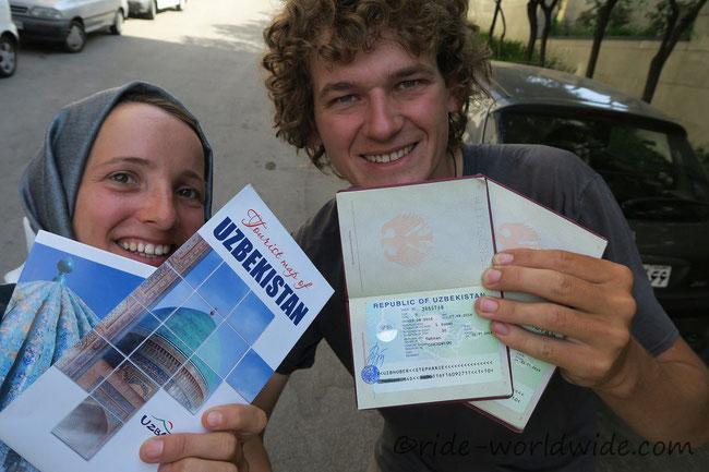 Usbekistan wir kommen!