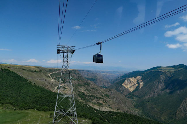 Pendelseilbahn Wings of Tatev