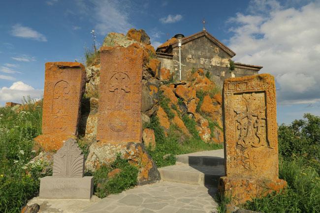 Hayravanik Kloster ebenfalls am Sevansee