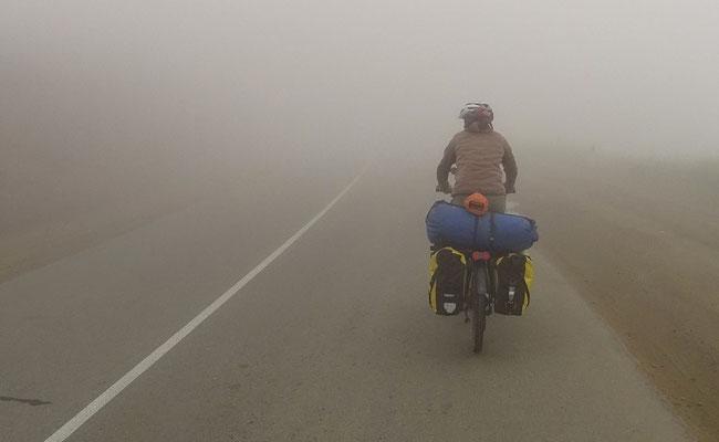 Nebel auf dem Meghri Pass