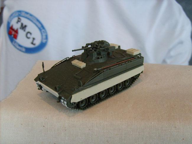 Modelle von HC bei der PMCL Ausstellung 2012