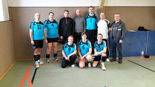 Volkssportmannschaft Saison 2014/2015