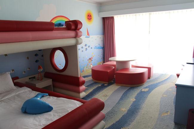 ルネッサンス リゾート オキナワ 沖縄 子連れ フリッパーズコネクティングルーム ホテル