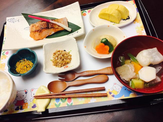星野リゾート 界 川治 お子様向け和食膳 食事 朝食