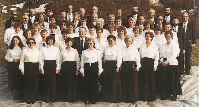 Aufnahme vom 16. März 1986 (anlässlich des 100-jährigen Jubiläum)