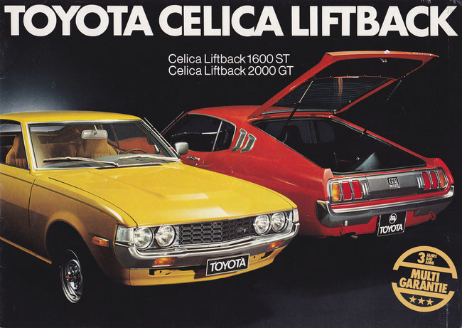Die zweite Generation des Celicas wurde ab Oktober 1975 verkauft, der Liftback wurde zu einem Verkaufserfolg.