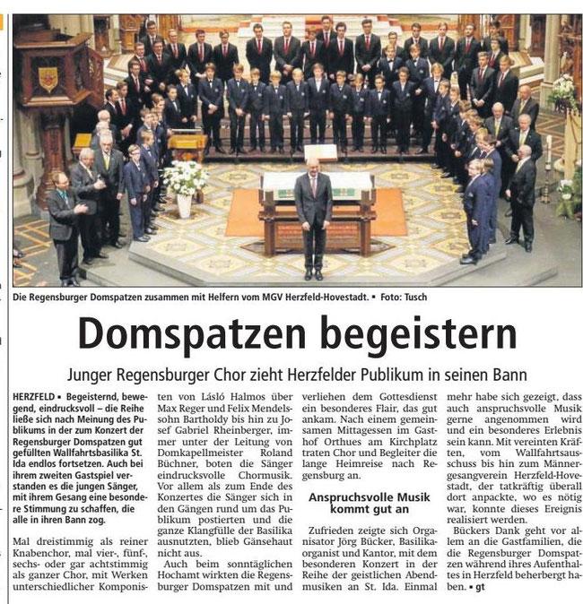Bericht Soester Anzeiger vom 31.10.2016