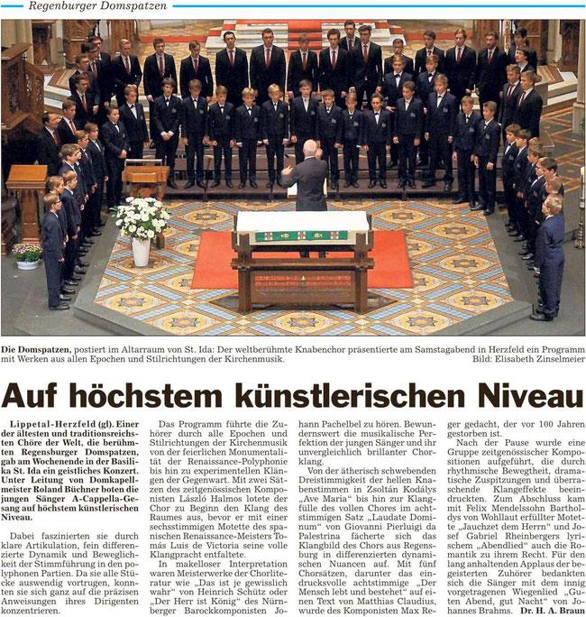 Bericht Die Glocke vom 31.10.2016