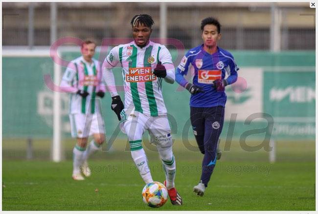 15.1.2019 Test Match - SK Rapid v SV Horn 5:0 (2:0)