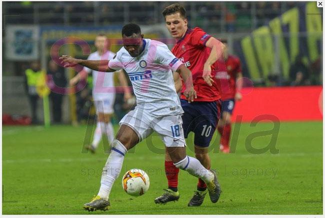 21.2.2019 FC Internazionale v SK Rapid Wien - UEFA Europa League 4:0 (2:0)