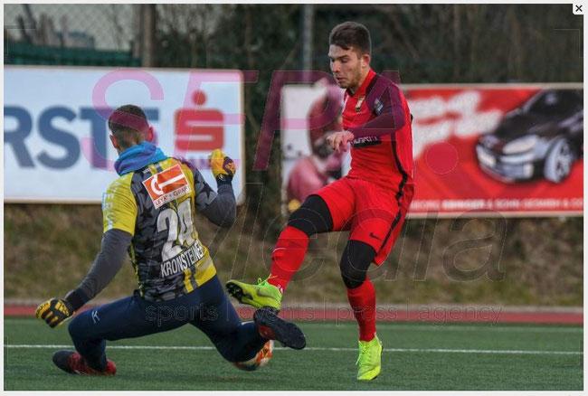 18.1.2019 FC Admira Wacker v SV Horn